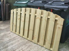 Fence Panels 6' x 3' Double Sided Paling made Treated Timber
