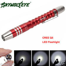 2000LM CREE Q5 LED Tactical Flashlight Powerful Torch AAA Lamp Bright Light Lamp