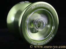Magic YoYo N9 Limited Edition Green hub-stacked kk bearing aluminium trick yoyo