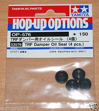 Tamiya 53576 TRF Apagador Oil Seals (4 Pcs.) (TRF416/TRF416/TRF417/TRF418/TRF419)