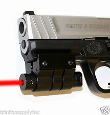 Tactical Red Laser Weaver Mounted for Glock Smith and Wesson Handguns.