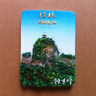 TOURIST SOUVENIR 3D Resin Fridge Magnet -- Solitary Peak , Guilin , China