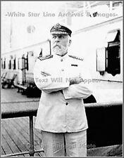 Photo: Peculiar Pose Of Captain E.J. Smith, RMS Titanic, April, 1912