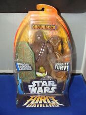 Star Wars CHEWBACCA Force Battlers action figure WOOKIE FURY Boulder Launching