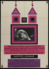 CHATEAU EN SUEDE Danish A1 movie poster MONICA VITTI ROGER VADIM 1963