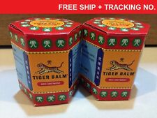 2x30g RED TIGER BALM OINTMENT - MASSAGE - PAIN RELIEF / FREE SHIP