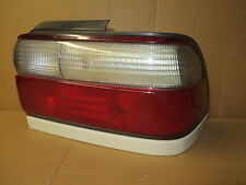 TOYOTA COROLLA 96-97 1996-1997 TAIL LIGHT PASSENGER RIGHT RH WHITE TRIM