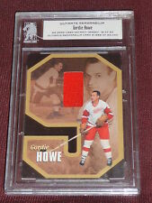 00-01 Bap Ultimate Memorabilia Gordie Howe First Edition Jersey 16/60