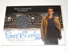 Mortal Instruments Autograph Costume Trading Card #AWI-RSI Robert Sheehan Skull