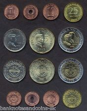 PHILIPPINES COMPLETE COIN SET 1+5+10+25 Sentimo 1+5+10 Piso 2005-10 UNC LOT of 7