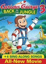 Curious George 3: Back to the Jungle (DVD, 2015)