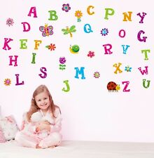 26 Alphabet Animal Removable Educational Wall Stickers Kids Nursery Vinyl Decal