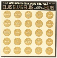Worldwide 50 Gold Award Hits Vol.1 (Box Set)  Elvis Presley Vinyl Record