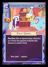 3x Wardrobe Malfunction - 126 - My Little Pony Canterlot Nights MLP CCG