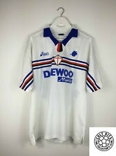 Sampdoria ORTEGA #10 98/99 Away Football Shirt (XL) Soccer Jersey Asics