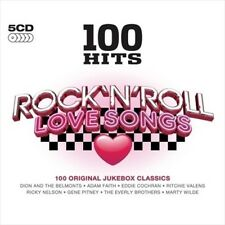 100 Hits: Rock 'N' Roll Love Songs New CD