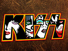 12 inch Jumbo KISS ROCK MUSIC BAND EMBROIDERED IRON ON PATCH BADGE