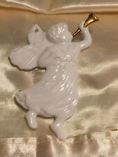 Vintage Bone China Dept 56 Heavenly Angel Chistmas Ornament