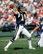 San Diego Chargers DAN FOUTS Glossy 8x10 Photo Football NFL Reprint Quarterback