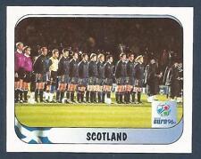 MERLIN-EURO 96 WITHDRAWN STICKER- #071-SCOTLAND TEAM PHOTO