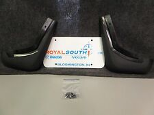 Genuine Volvo S40 V50 Rear Mud Guard Kit OE OEM 30764295