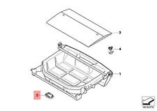 Genuine BMW E90 Sedan Adapter Luggage Compartment Right OEM 51476956666