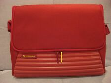 MANDARINA DUCK TANK BRIEFCASE BAG COLOR RED FIRE with LAPTOP CASE - BRAND NEW