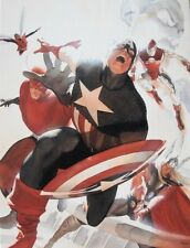 ALEX ROSS rare AVENGERS 4 HOMAGE Mini Canvas NEW giclee with COA 2016 SDCC Excl!