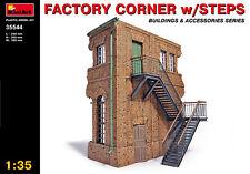Miniart 1/35 Factory Corner w/ Steps # 35544