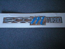 GENUINE VAUXHALL ECO M TURBO BADGE BRAND NEW CORSA/ D ASTRA/ J  AND INSIGNIA