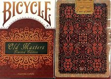 Bicycle Old Masters Limited Edition Playing Cards Deck New