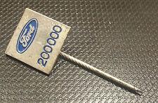 Ford Anstecknadel Abzeichen für 200000 KM lackiert 12x12mm alt+origin