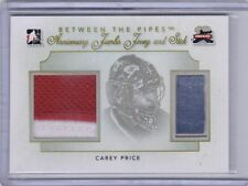 Carey Price 12/13 ITG Between The Pipes Anniversary Jumbo Jersey / Stick /10