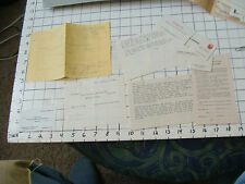vintage Paper Ephemera: OLD INFO ABOUT MAKING BUSINESS CARDS, with some old ones
