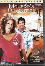 McLeod's Daughters Complete Season 8 (Final Season) NEW SEALED (Nordic Packing)