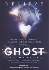 GHOST THE MUSICAL BRITISH TOUR 2016/17 PROMO FLYER BUY 2 GET 1 FREE