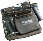 Tool Work Belt Leather Pouch Back Support Nail Holder Various Styles