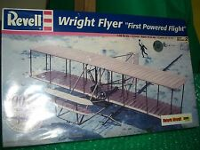 Revell 1/39 scale Wright Flyer 1st powered flight model kit.