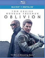 NEW TOM CRUISE MORGAN FREEMAN OBLIVION BLU RAY + DIGITAL HD FREE 1ST CLS S&H