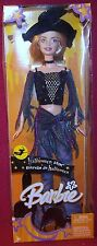 Mattel Estrella de Halloween Star Barbie Witch W/ Hat & Brush Accessories NRFB