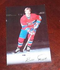 Montreal Canadians post card 1980's Bill Root # 18