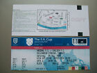 2002 F.A. Cup Final Ticket complete unused Chelsea v Arsenal mint condition.
