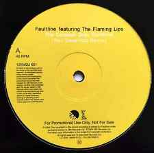 """FAULTLINE FT THE FLAMING LIPS - The Colossal Gray Sunshine (Remix) (12"""") (Promo)"""