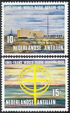 Netherlands Antilles 1970 radio Station/Mast/Tower/Communications 2v set n43323