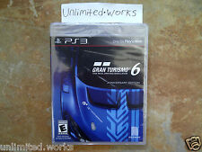 Gran Turismo 6 Anniversary Edition PlayStation 3 GT6 PS3 Brand New Sealed