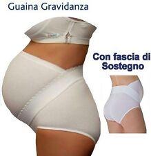 GUAINA GESTANTE con fascia di sostegno. marca Gios tg 7