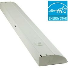 GE 24 in. (2ft) Direct Wire LED Under Cabinet Light Bar w/Hi/Low/Off Lumens: 825