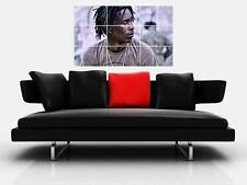 "YOUNG THUG BORDERLESS MOSAIC TILE WALL POSTER 35""x 25"" STONER RAPPER HIP HOP"