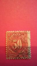 Postage Due Issue Stamp 1916 Single J58 Used