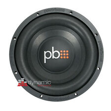 "PowerBass S-1004 Car Audio 10"" Single 4-Ohm S-Series Subwoofers Sub 550 Watts"